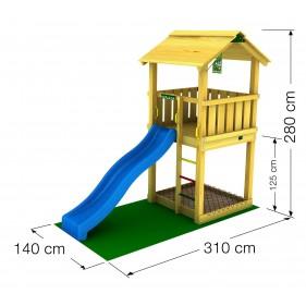 Jungle Gym Casa kerti fa játszótér