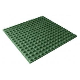 Eséscsillapító gumilap 4 cm zöld