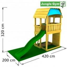 Jungle Gym Barn kerti játszótér