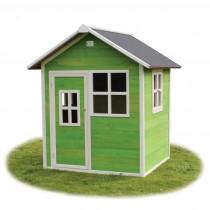 Loft 100  zöld kerti játszóház (100% FSC)