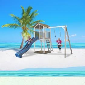 Beach csúszda torony hintával