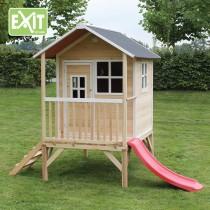Loft 300 kerti játszóház csúszdával (100% FSC)