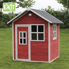 Loft 100 piros kerti játszóház (100% FSC)