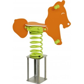 Műanyag rugós játék Pony
