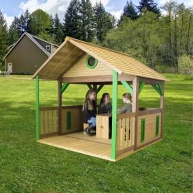 ZAZOU kerti játszóház (100% FSC)