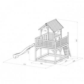 ATKA kerti játszóház (100% FSC)