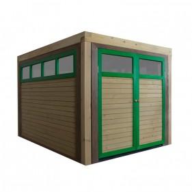 DRIVE-IN kerti játszóház garázs modul (100% FSC)