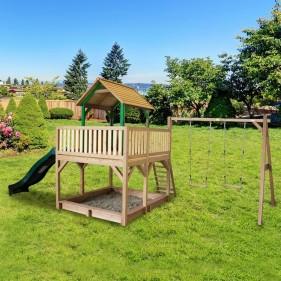 ATKA kerti játszóház dupla hintaállvánnyal (100% FSC)