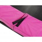 EXIT Silhouette Ground szabadtéri kör spirálrugós süllyesztett trambulin - pink