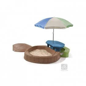 Summertime játszótér beépített piknik asztallal
