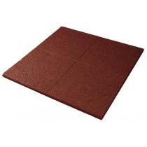 Eséscsillapító gumilap 7 cm vörös