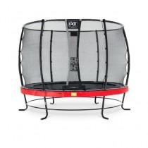 EXIT Elegant Prem Safety Economy 305cm kör trambulin - piros