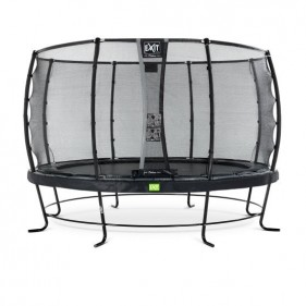 EXIT Elegant Prem Safety Economy 427 cm kör trambulin - fekete