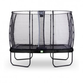 EXIT Elegant Prem Safety Economy 244*427 cm derékszögű trambulin - fekete