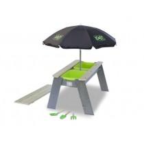 """EXIT Aksent """"L"""" homokozó, vízasztallal és napernyővel"""