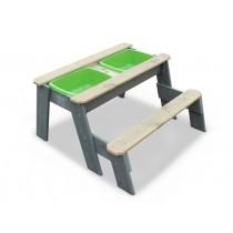 """EXIT Aksent """"L"""" homokozó, vízasztallal és ülőpaddal"""