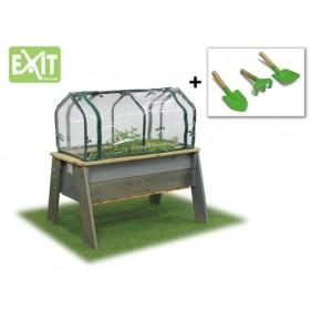 """EXIT Aksent Deluxe """"L"""" asztali fa palántázó - szürke"""