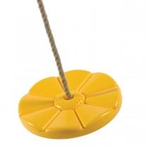 Tányérhinta - sárga