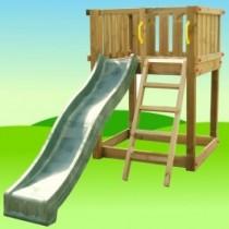 PODIUM XL kerti fa játszótér csúszdával