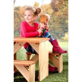 ZidZed XL piknik szett, kerti gyerekbútor