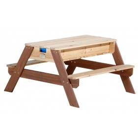 NICK piknik asztal homokozóval